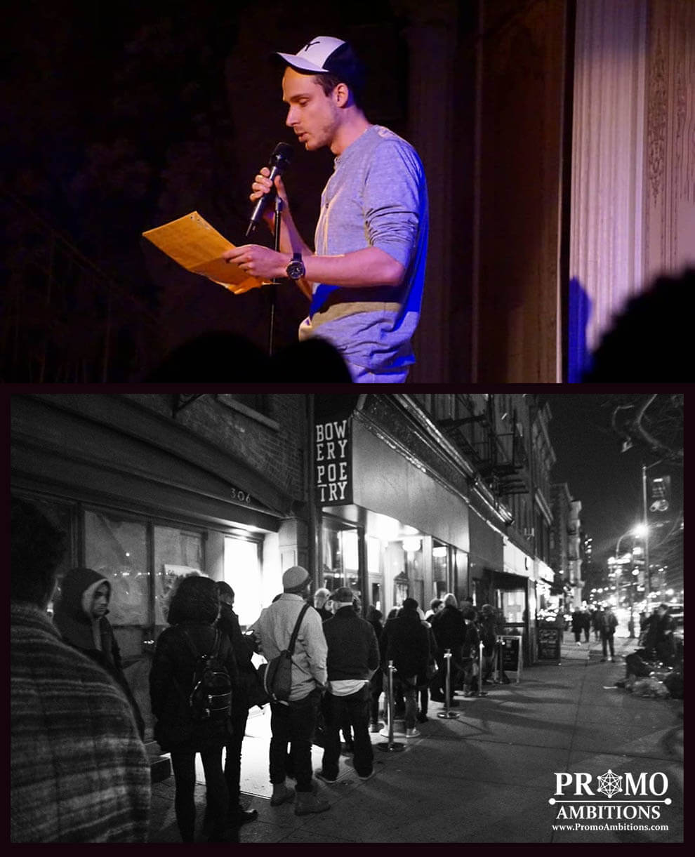 Bowery Poetry Club Performance