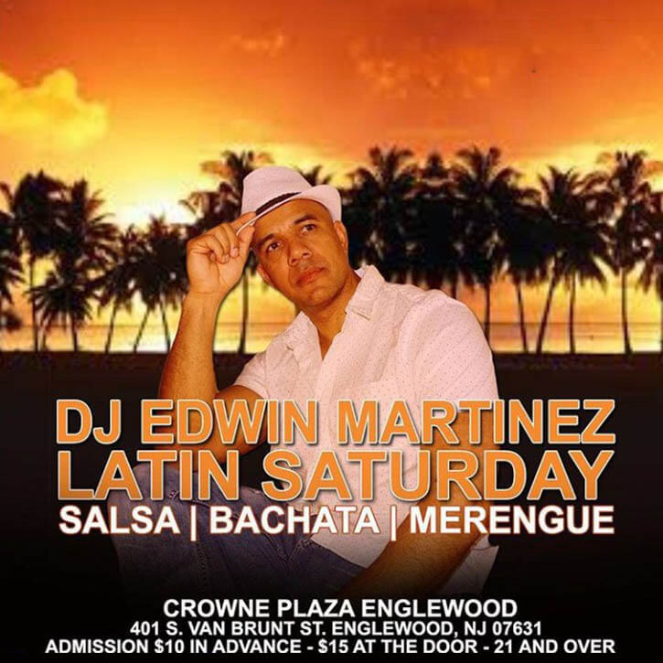 Latin Saturday DJ Edwin