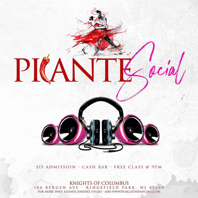 Peak Latin Dancing Picante Monthly Social