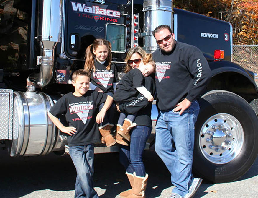 Wallace Trucking Co Family